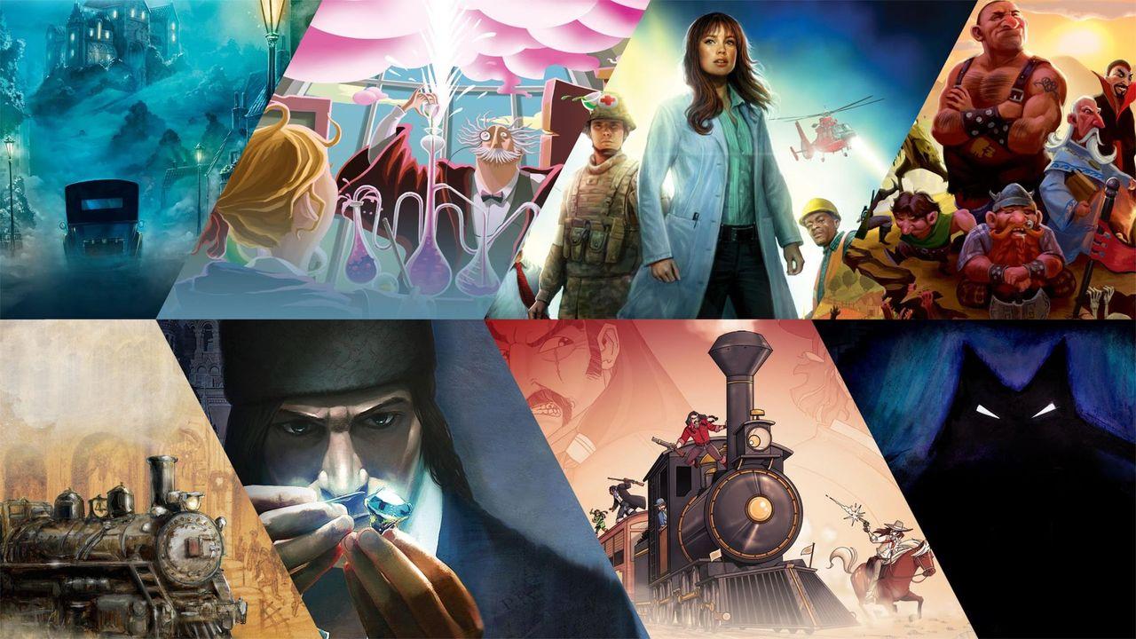 Asmodee Digital : des jeux pour les longues soirées d'hiver