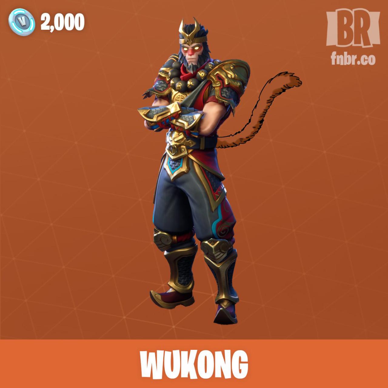 Wukong Fortnite - Epic Games