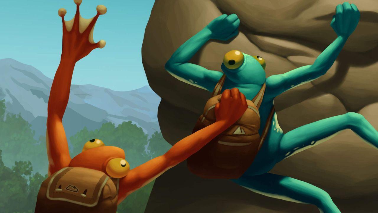 Frog Climbers, des grenouilles à l'assaut des sommets