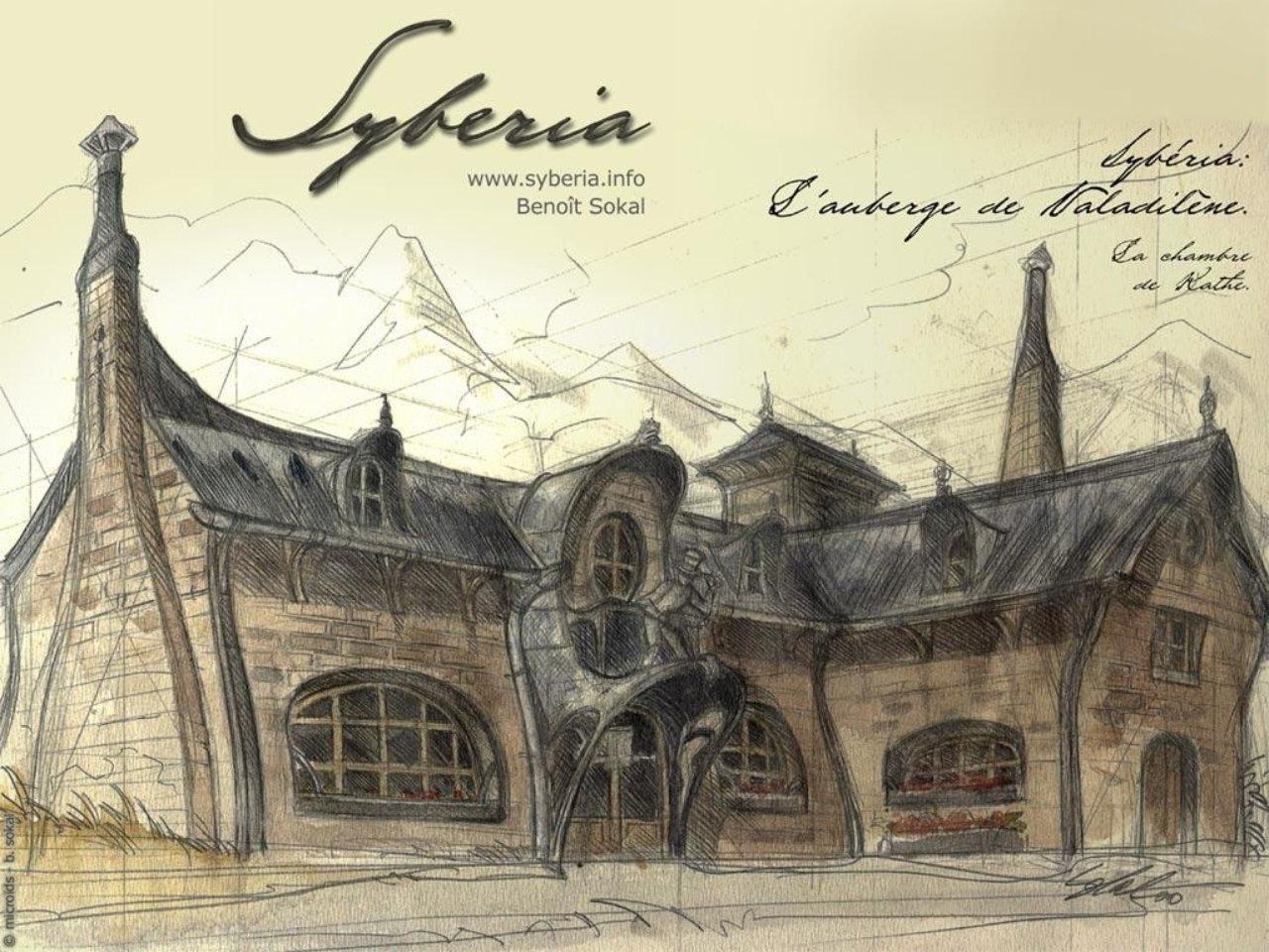 Syberia, les dessins de Benoit Sokal