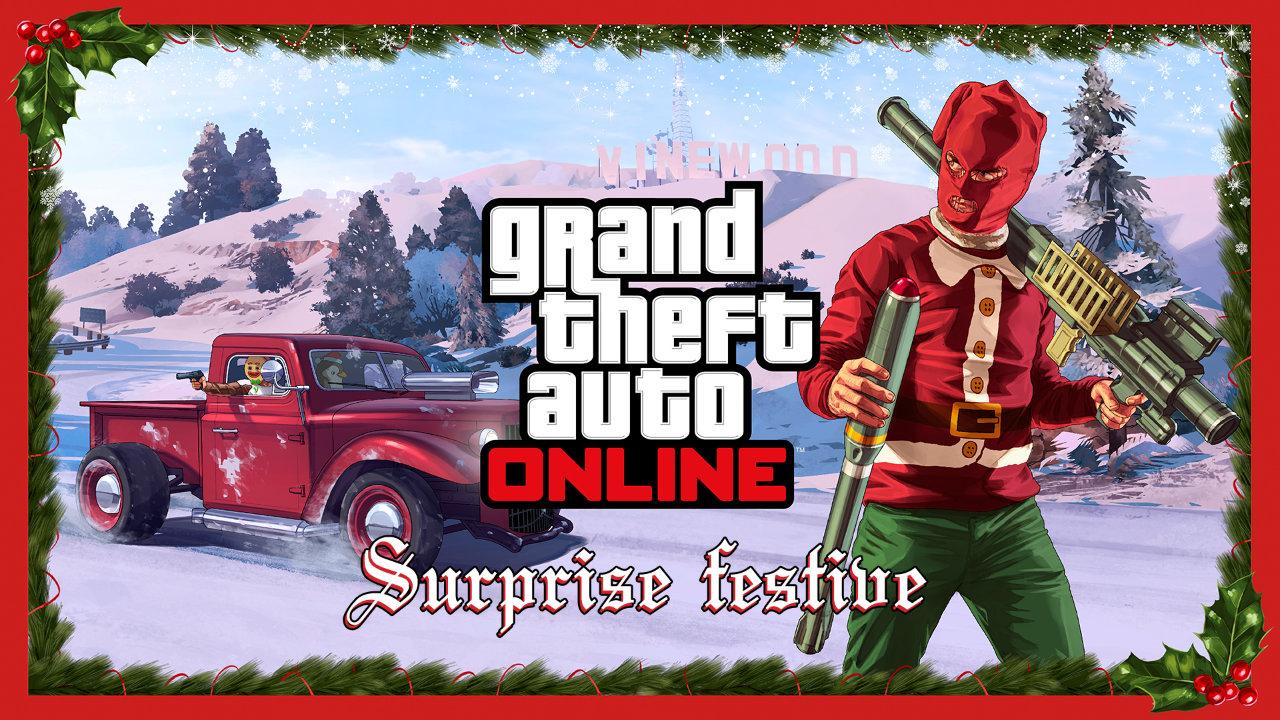 GTA DLC Noël
