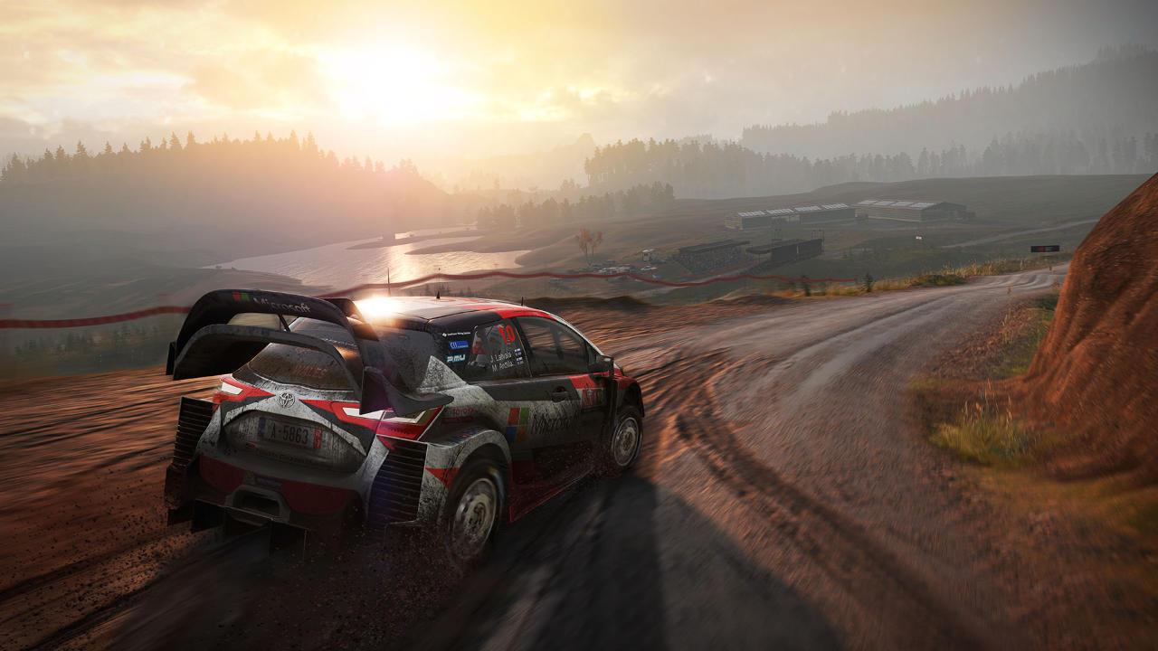 WRC 7- Big Ben interactive